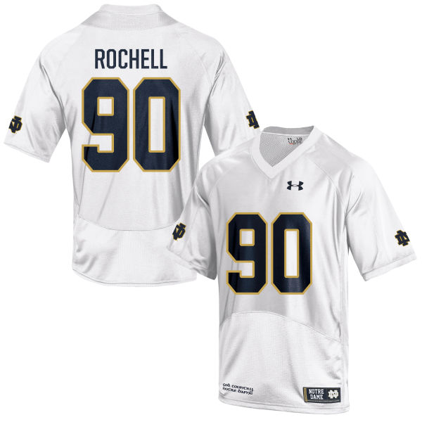 Youth Under Armour Isaac Rochell Notre Dame Fighting Irish Limited White Football Jersey